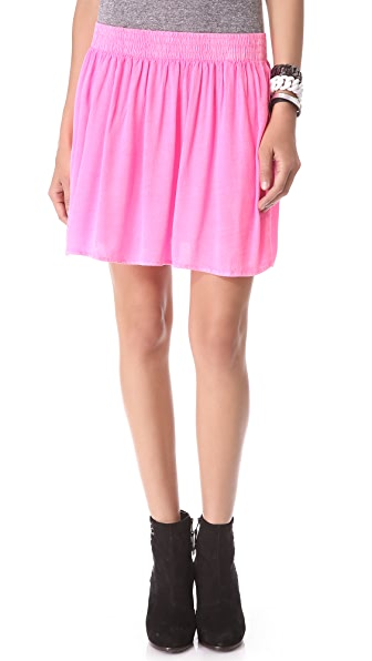 MONROW Crepe Skirt