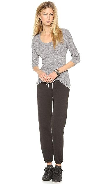 MONROW Burnout Vintage Sweatpants