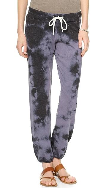 MONROW Sun Faded Tie Dye Vintage Sweats