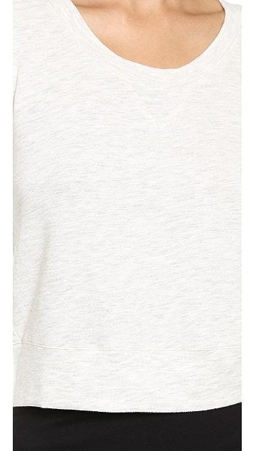 MONROW Cropped Vintage Sweatshirt