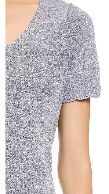 MONROW Pocket T Dress