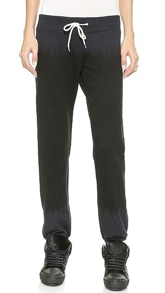 MONROW Black Out Tie Dye Vintage Sweatpants