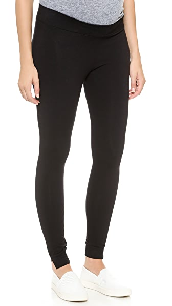 MONROW Maternity Yoga Leggings