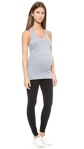 MONROW Maternity Yoga Leggings