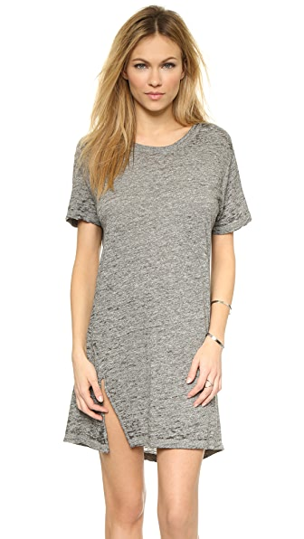 MONROW Oversized Tee Dress