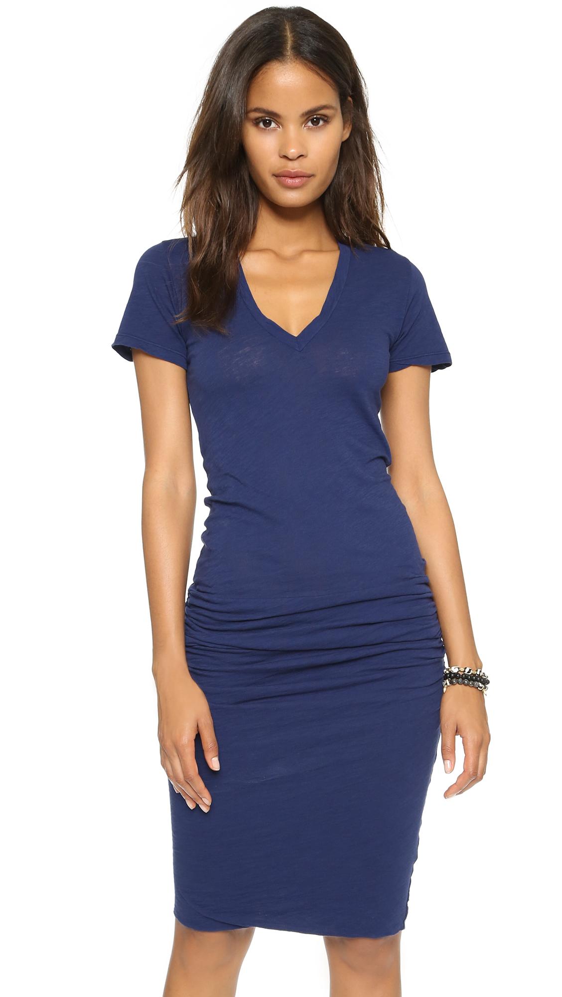 Monrow v neck dress shopbop save up to 25 use code eots17 ombrellifo Choice Image