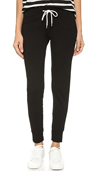 MONROW Sporty Sweatpants - Black