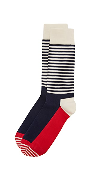 HS Half Stripe Socks