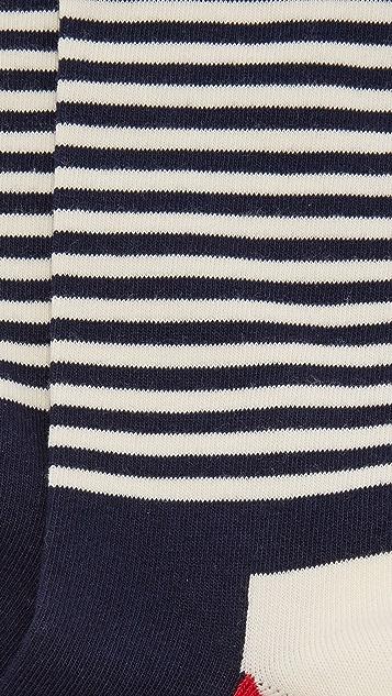 HS Half Stripe Socks