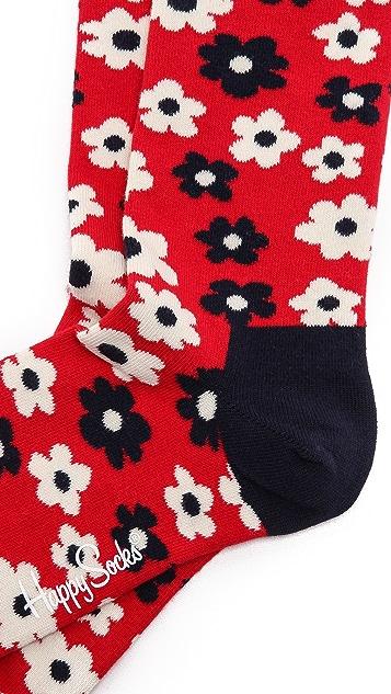 HS Flower Socks