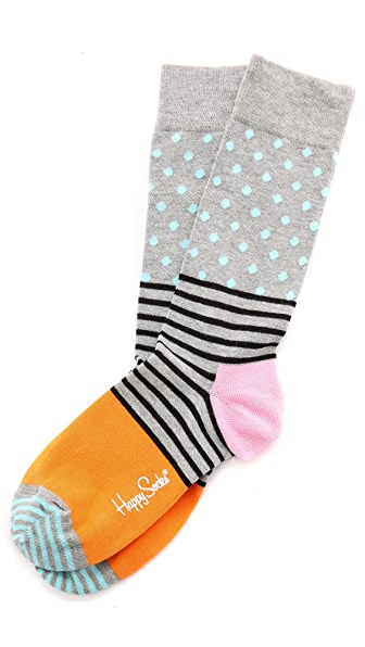 HS Half Dot Socks