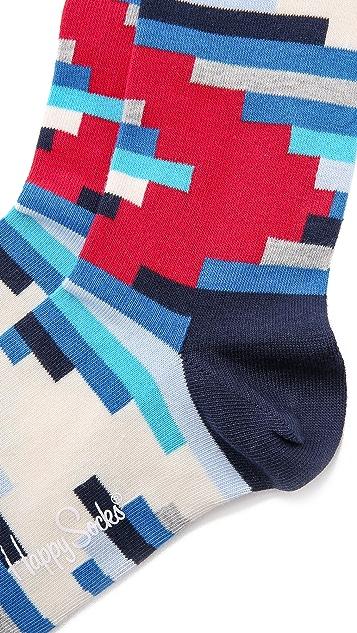 HS Stripe Off Socks