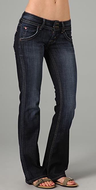 Hudson Petite Signature Boot Cut Jeans | SHOPBOP