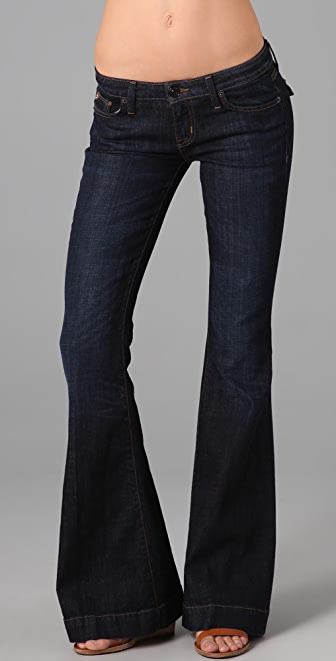 Hudson Flap Pocket Flare Jeans