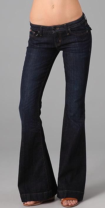 Hudson Flap Pocket Flare Jeans