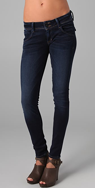 Hudson Collin Flap Pocket Skinny Jeans