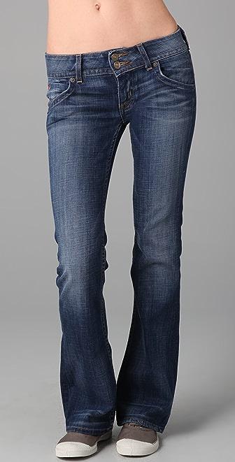 Hudson Petite Boot Cut Jeans
