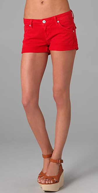 Hudson Hampton Denim Short Shorts