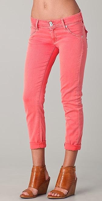 Hudson Collin Crop Skinny Jeans