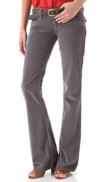 Hudson Signature Boot Cut Corduroy Pants
