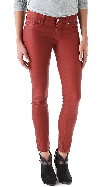 Hudson Krista Skinny Waxed Jeans