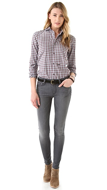 Hudson Nico Mid Rise Super Skinny Jeans