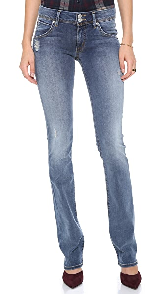 Hudson Beth Mid Rise Baby Boot Cut Jeans