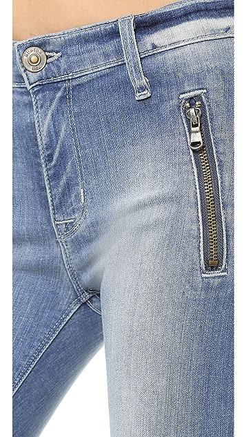 Hudson Stark Moto Jeans