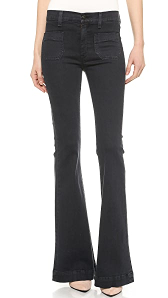 Hudson Taylor High Waisted Flare Jeans | 15% off first app ...