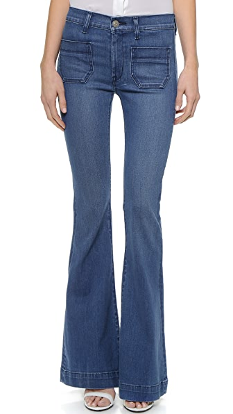 Hudson Taylor High Waist Flare Jeans | 15% off first app purchase ...