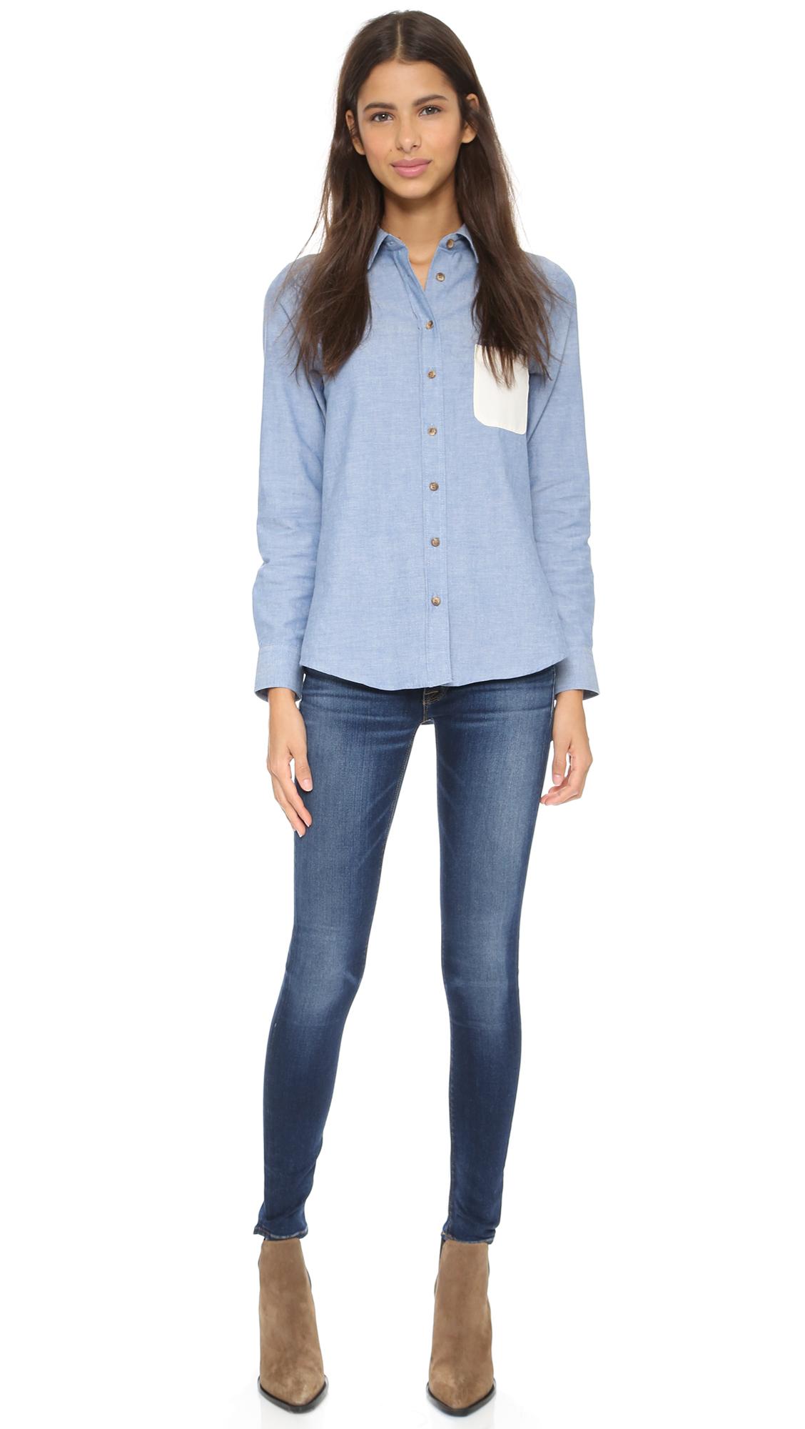 12ce99e28d0 Hudson Nico Elysian Mid Rise Skinny Jeans | SHOPBOP