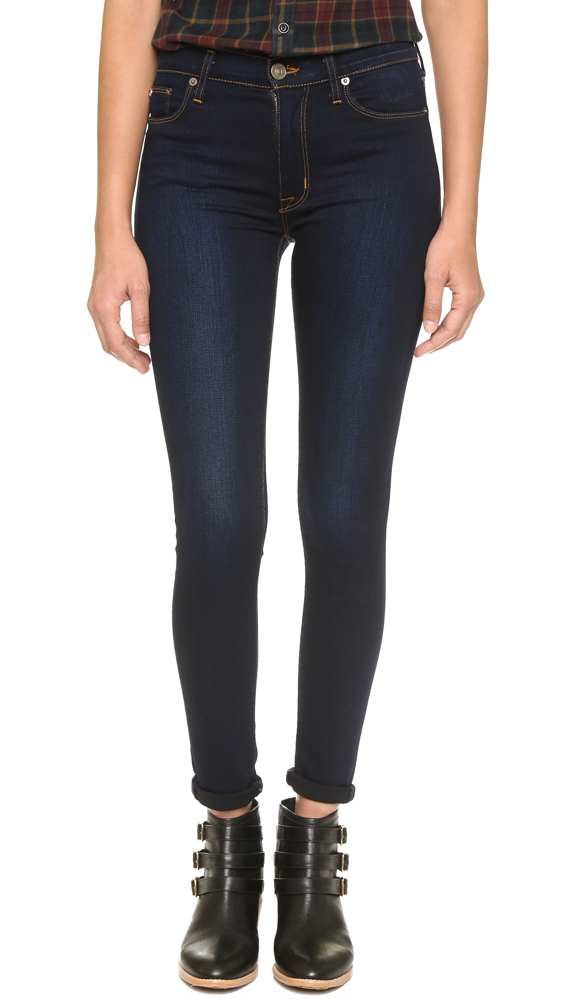 Hudson Barbara High Waisted Super Skinny Jeans | SHOPBOP
