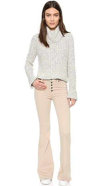 Hudson Jodi High Waist Flare Jeans