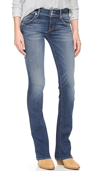 Hudson Beth Mid Rise Baby Boot Cut Jeans Shopbop Save Up