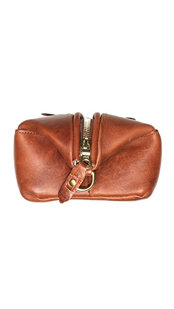 J.W. Hulme Co. American Heritage Leather Travel Kit