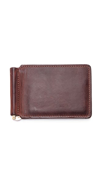 J.W. Hulme Co. Money Clip Wallet