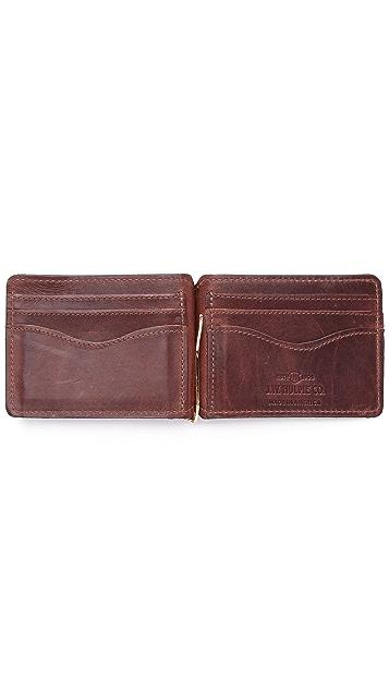 J.W. Hulme Co. Money Clip Wallet