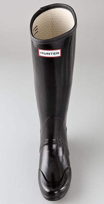 Hunter Boots Regent Smooth Gloss Boots