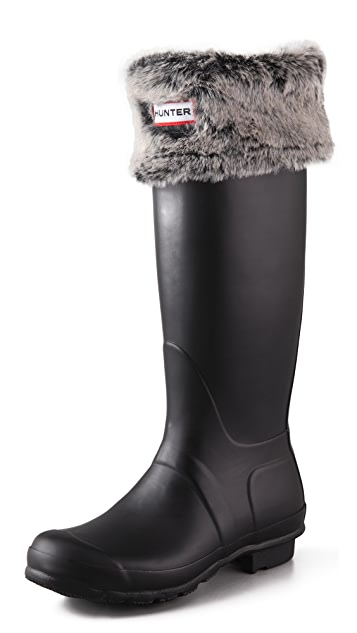 Hunter Boots Grizzly Cuff Welly Socks