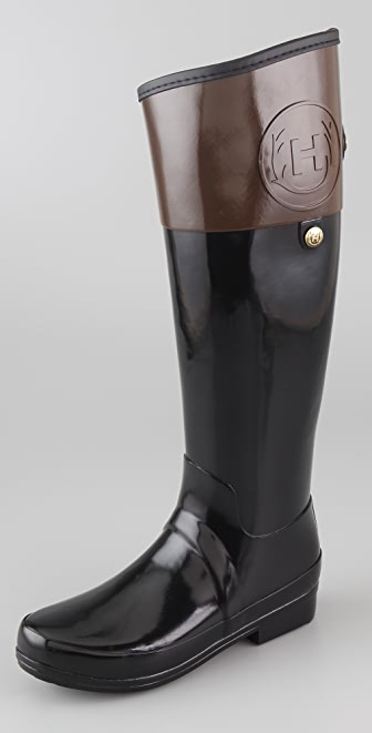 Hunter Boots Regent Carlyle Flat Boots