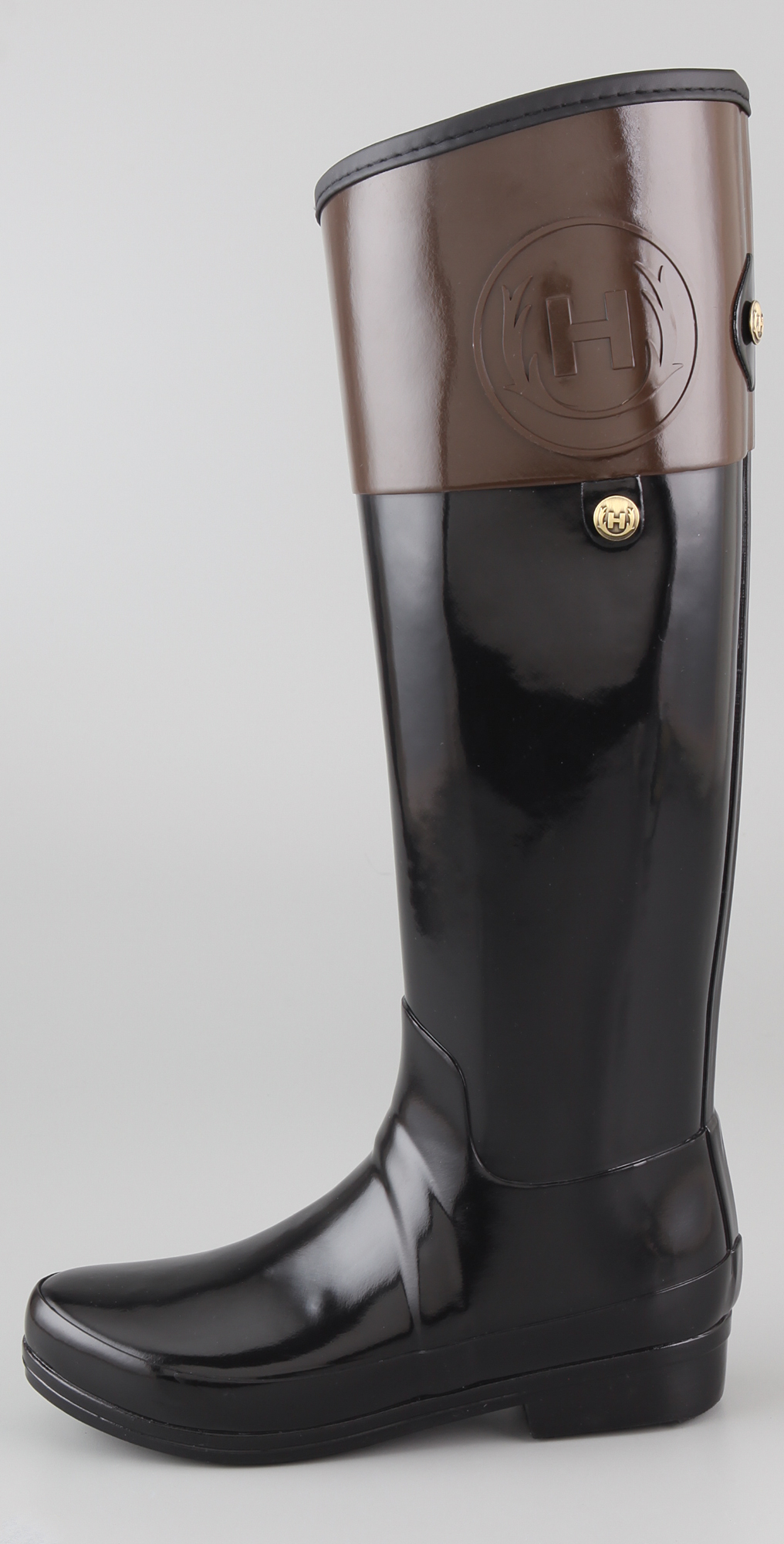 purchase cheap 32fa4 503b2 Hunter Boots Regent Carlyle Flat Boots | SHOPBOP