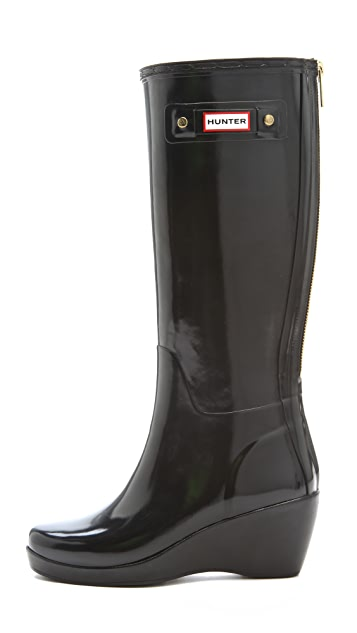 Hunter Boots Moss Wedge Boots