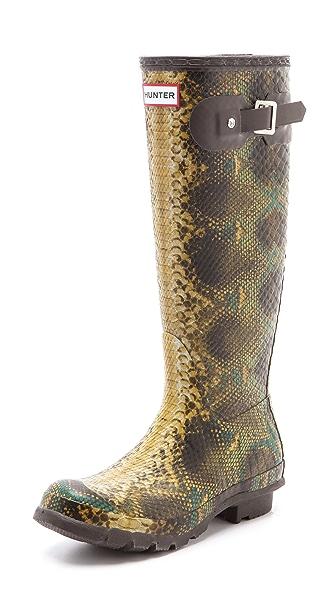 Hunter Boots Hunter Snake Boots