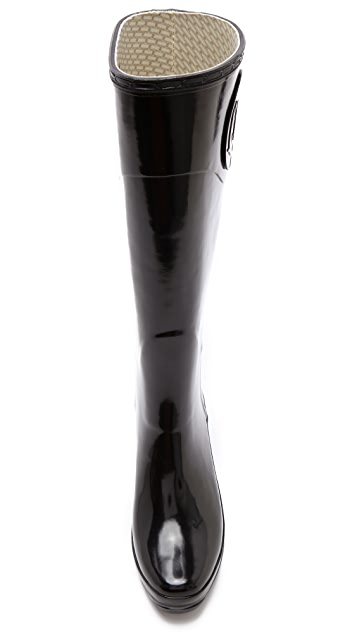 Hunter Boots Champery Wedge Boots
