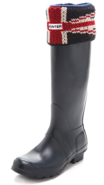 Hunter Boots Original Brit Cuff Welly Socks