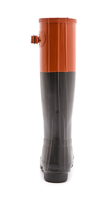 Hunter Boots Original Colorblock Rain Boots