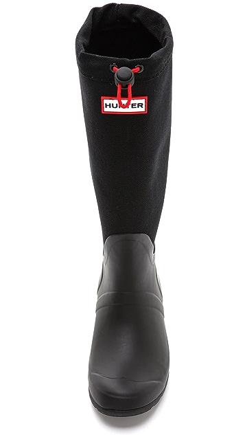 Hunter Boots Original Tour Canvas Tall Boots
