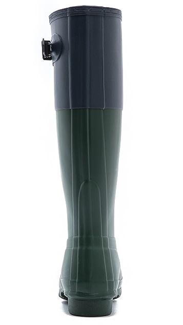Hunter Boots Original Colorblock Boots