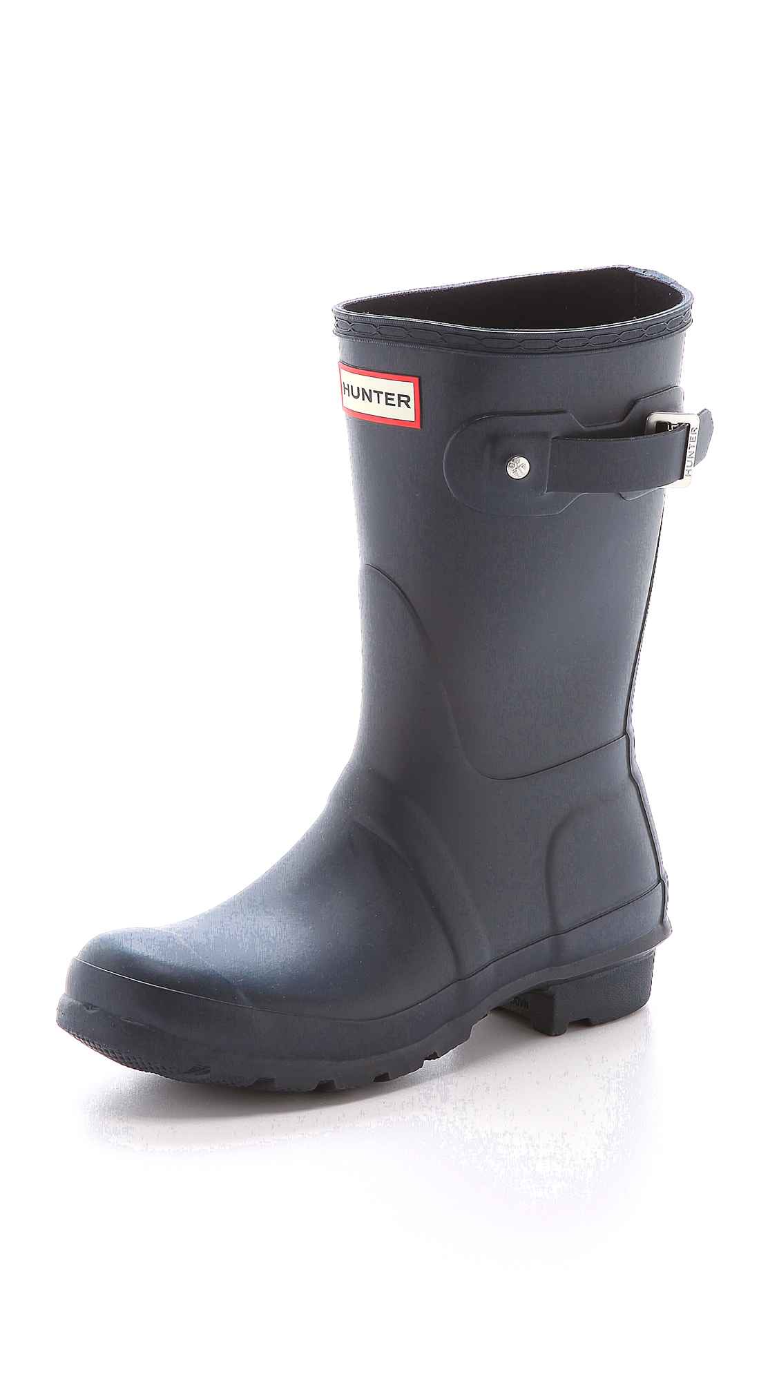 Hunter Boots Original Short Boots - Navy at Shopbop