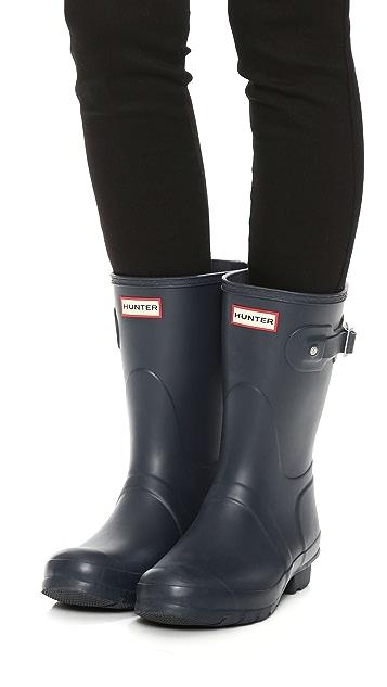 Hunter Boots Original Short Boots